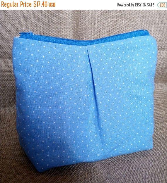 ON SALE Linen Clutch pastel purse women pouch by MyGlassLampwork