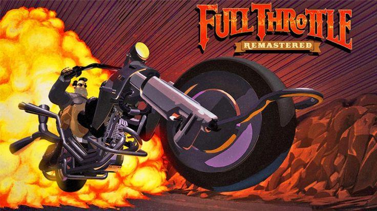 Full Throttle Remastered : un vieux coucou qui en a dans le ventre   Il y a vingt-deux ans de cela, l'excellent Tim Schafer et son équipe de joyeux drilles, acclamés deux ans plus tôt pour Day of the Tentacle, n... http://www.jeuxvideo.com/test/647505/full-throttle-remastered-un-vieux-coucou-qui-en-a-dans-le-ventre.htm