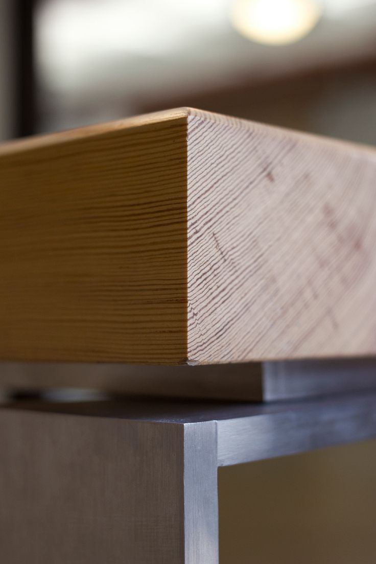 timber + steel detail