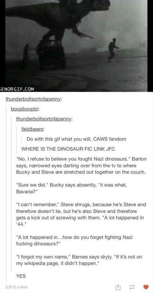 Bucky & Steve screwing with Clint | Avengers | Marvel