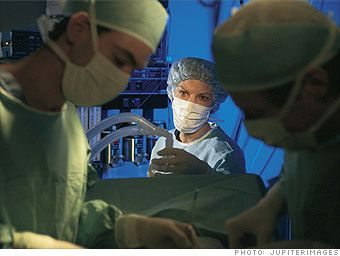 Nurse Anesthetist: ranked as one of the best jobs in America by CNNMoney. What they do: Nurse Anesthetists work with Anesthesiologists to help administer anesthesia for patients prior to surgery, monitor and adjust the levels of anesthesia during surgery, and oversee the health of patients post-surgery. Median Salary: $157,000