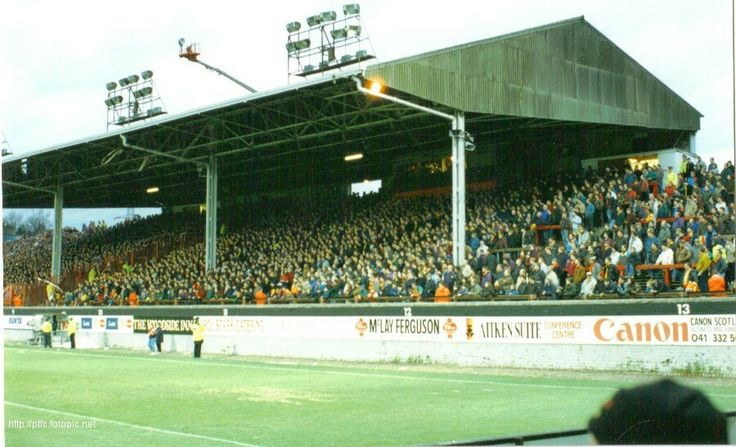 Firhill Stadium, Glasgow: Home of Partick Thistle FC