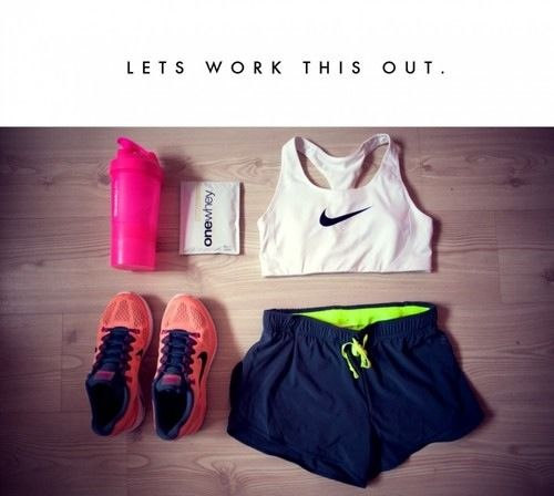i want this workout clothes!