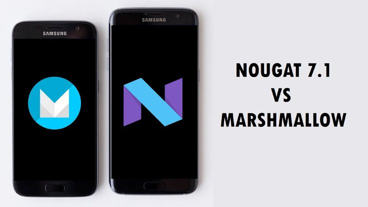 Android Nougat 7.1 vs Marshmallow 6.0 | WHAT'S NEW?