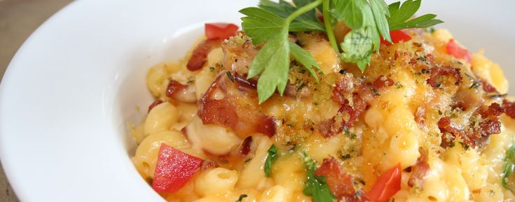 Macaroni et fromage (Mac & Cheese) au homard, New Brunswick Canada