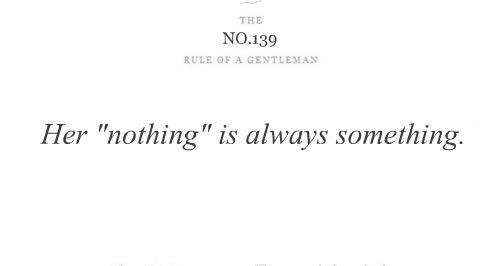 the rule of a gentleman - 139