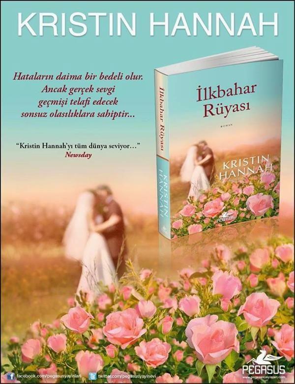 İlkbahar Rüyası,Amerikalı yazar Kristen Hannah' ın yeni romanı İlkbahar Rüyası, bir sinema filmi tadında tüm duygularınıza harekete geçirecek sıcak bir roman