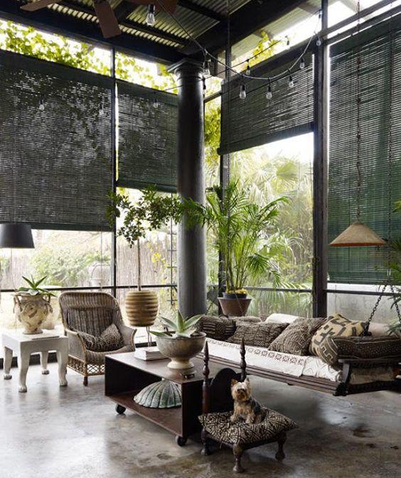 Les 48 meilleures images du tableau deco mur cloison for Stores pour baies vitrees
