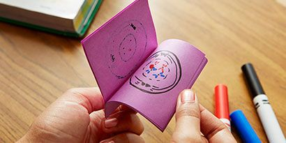 Mitosis Flip Book. When all of the pictures are drawn, flip through the pages to watch your animation of a cell dividing