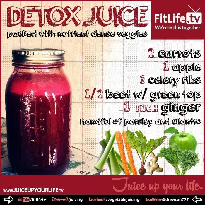 Jugo Detox Detox juice