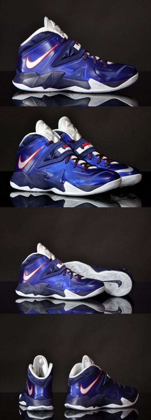 Basketball: Nike Zoom Soldier Vii Lebron James Shoes Navy Sizes 10.5, 11 And 12 -> BUY IT NOW ONLY: $94.97 on eBay!
