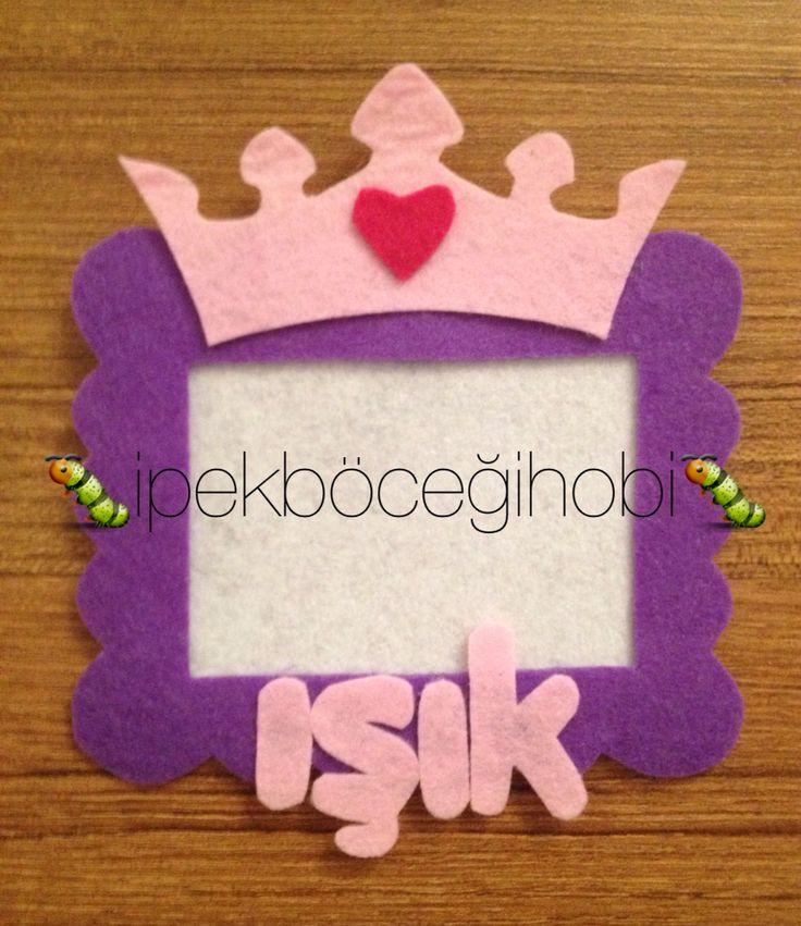 Prensesler için çerçeve magnet