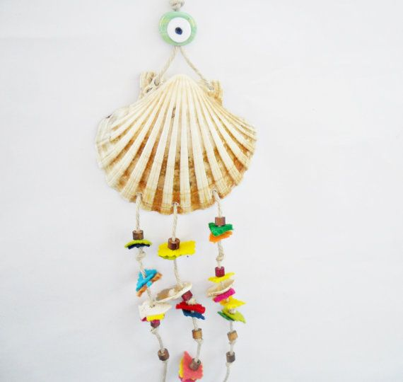 Free shipping  Sea shell decorative ornament by noyumberry on Etsy, $25.00