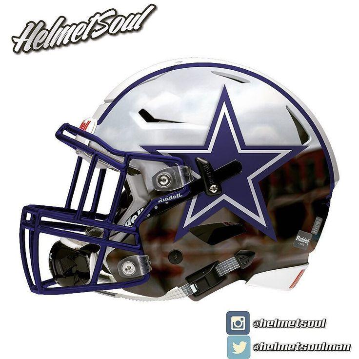 282 best football images on pinterest - Dallas cowboys concept helmet ...