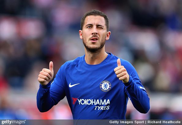 Belgium and Chelsea star Eden Hazard has spoken about what he thinks it would actually take for him to win the the Ballon d'Or award