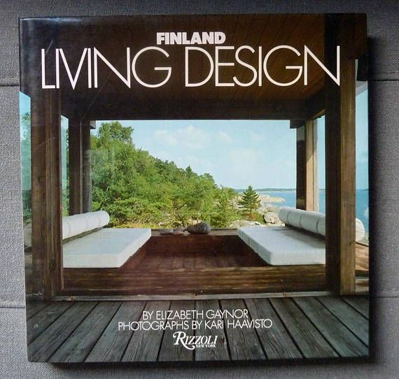 Finland Living Design Hardback Book by Elizabeth Gaynor 1984