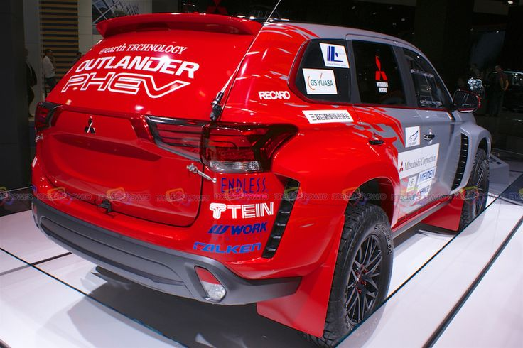 Mitsubishi Outlander PHEV - Want to see more? Follow the link on the photo for Mitsubishi at IAA Frankfurt 2015!