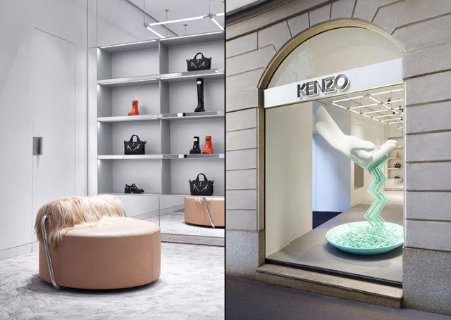 THE SHOP LOCATOR: Kenzo Flagship Store. Milan