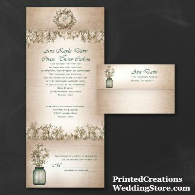 Peacock seal and send wedding invitations