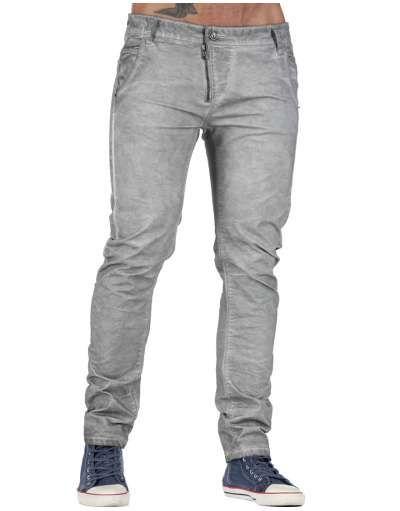 ΑΝΔΡΙΚΑ ΡΟΥΧΑ :: Παντελόνια :: Παντελόνι Cargo Washed Pants Grey - OEM