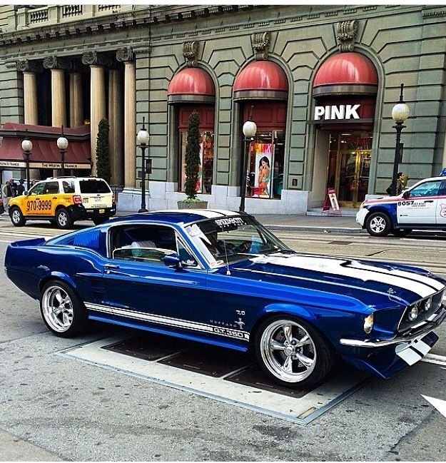 Ford Mustang Fastback, rocznik 1967