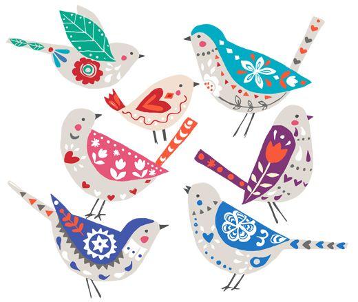 Folk-birds2
