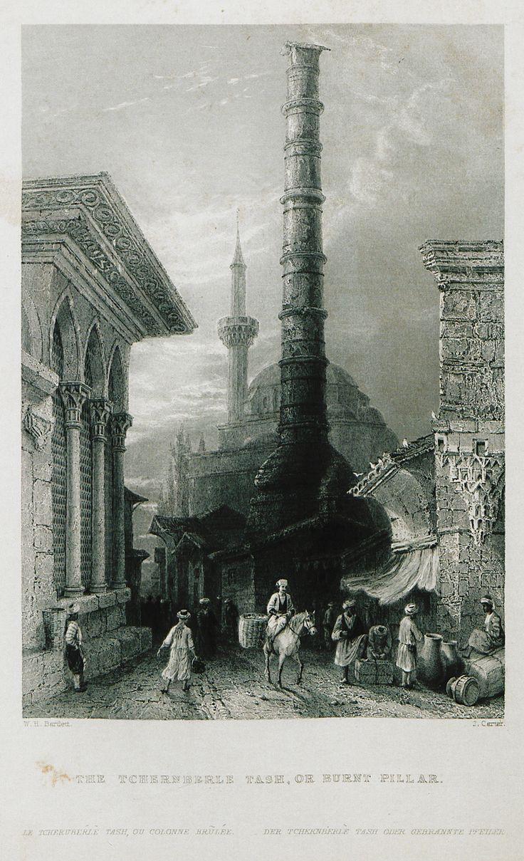 Çemberlitaş-(The Beauties of the Bosphorus; by Miss Pardoe, from drawings by W. H. Bartlett.)'1874