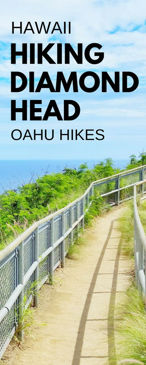 Best Oahu hikes with some of the best views: Diamond Head Hike! For US hiking trails in Hawaii, tons of hikes on Oahu to choose on Hawaii vacation! Doing best hiking trails on Oahu gives things to do with nearby beaches for swimming, snorkeling, and to see turtles! Planning tips for this crater hike trail summit near Waikiki and Honolulu with what to wear hiking in Hawaii and what to pack and add to Hawaii packing list. Outdoor travel destinations for bucket list and budget adventures!