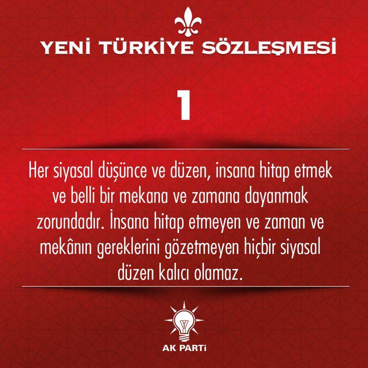 1.Madde, #YeniTürkiyeSözleşmesi