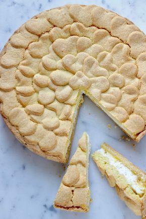 A La prova del cuoco: torta alla ricotta e lemon curd
