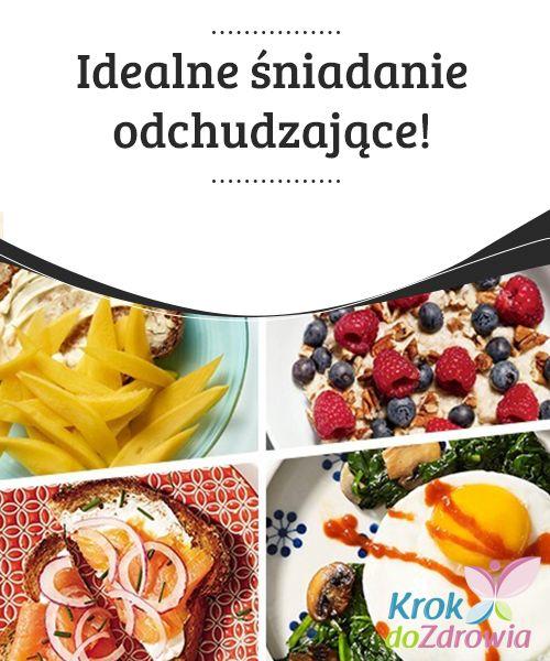 #Idealne śniadanie odchudzające!  #Śniadanie to najważniejszy posiłek dnia i jeśli chcesz schudnąć, powinnaś przywiązywać do niego szczególną wagę, ponieważ poza tym, że dostarcza nam #energii na cały dzień, aktywuje metabolizm. Nie zadowalaj się miską płatków #owsianych na śniadanie. Na przykład tost z łososiem to tylko 360 kalorii.