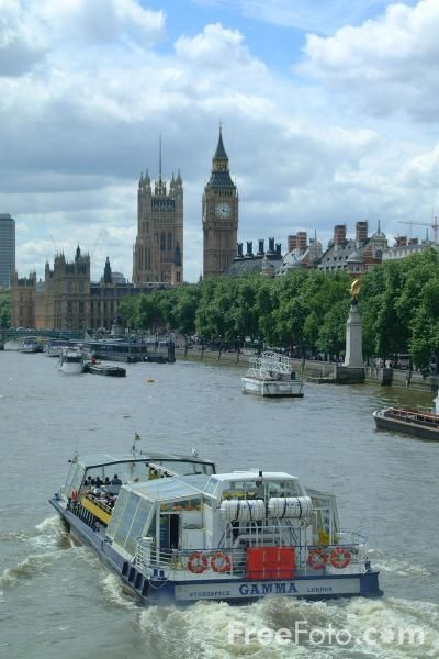 Picture of River Thames Cruise Ship, London, England