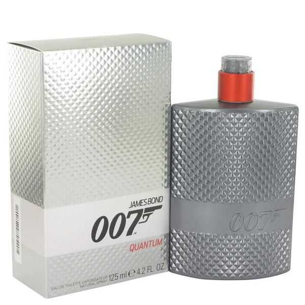 The casual cool of the world's most famous spy is captured in 007 quantum a fragrance from the scent experts at the james bond design house.