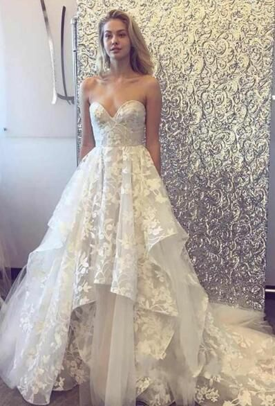 Dynamic 2019 Vestido De Festa Real Sample Sexy Crystals Prom Dresses Sweetheart Evening Party Gowns Sweep Train Sexy Custom Made Hottest Weddings & Events
