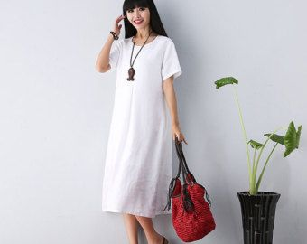 Loose Fitting Long Maxi Dress  Summer Dress   by deboy2000 on Etsy