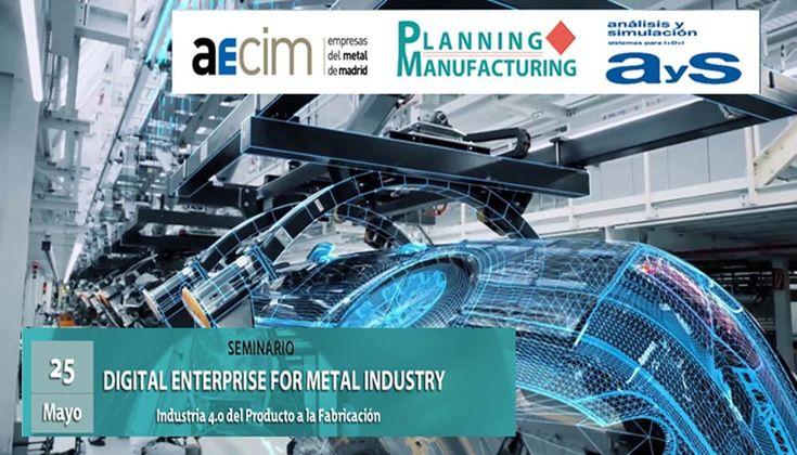 Una jornada presenta el 'Digital Enterprise' para la industria del metal