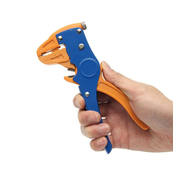 HS-700D 2 in 1 0,25 ~ 6mm² Automatische Kabel Abisolierzange Zange Crimper Crimpwerkzeug