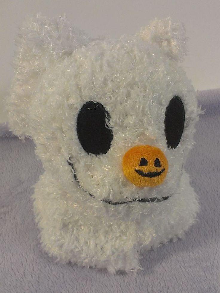 "BABY ZERO Nightmare Before Christmas Ghost Dog 8"" Plush Disney Parks Stuffed NBC #Disney"