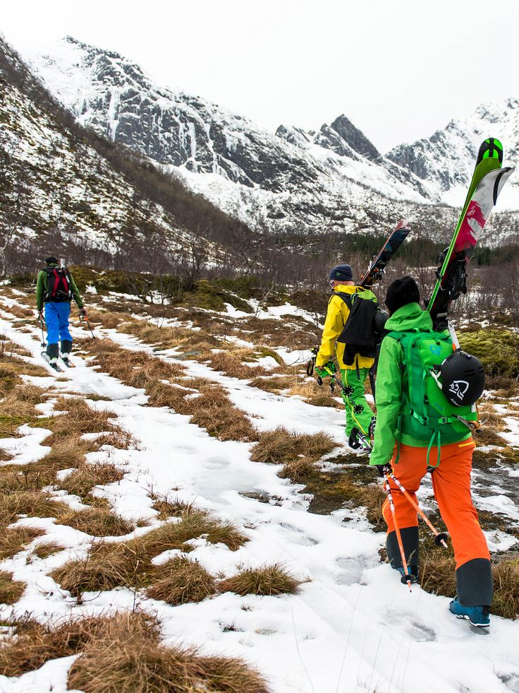 To get to the top, you always have to start from the bottom. Click on the image and read the story from our fantastic trip to Lofoten in northern Norway. http://bit.ly/lofoten2014 Photo: Sverre Hjørnevik
