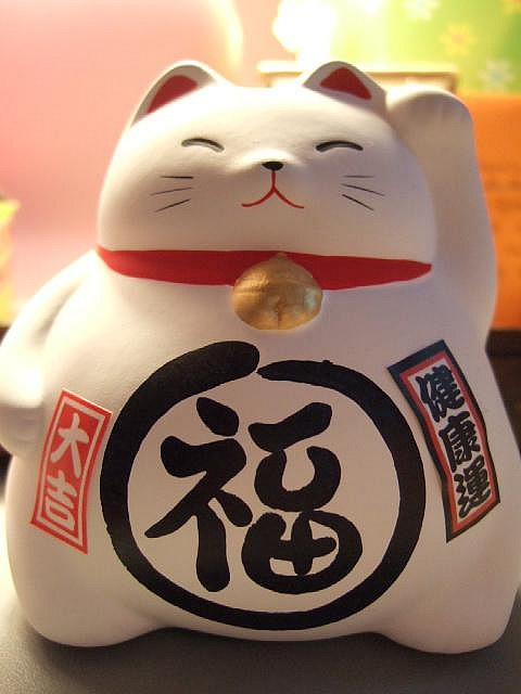 Another Maneki Neko for the streets of Nekotown.