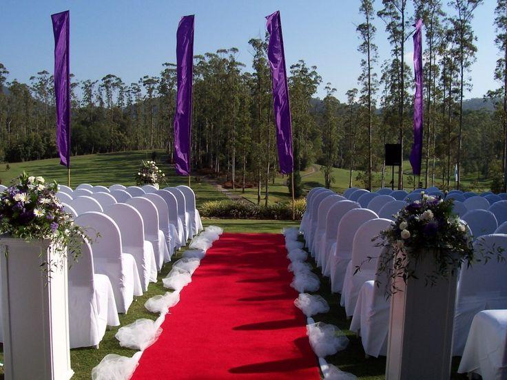 Terrace lawn ceremonies