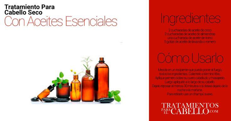 Remedio con Aceites Esenciales | Los Mejores 20 Tratamientos Caseros Para El Cabello Seco
