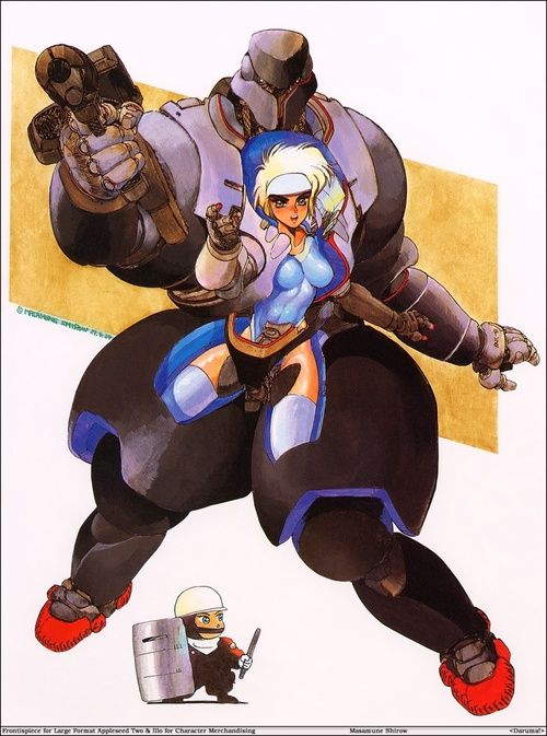 Appleseed Character Design : Awesome appleseed landmate image masamune shirow s