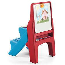 STEP 2 - ART EASEL DESK - Create a masterpiece with still room to share