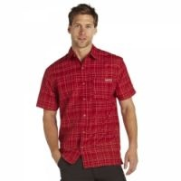 £12.99 -   Regatta Oregon Mens Shirt Pepper  An easy wear checked shirt which dries quickly if you need to wash it overnight on your travels. Polyester/viscose fabric. Quick drying