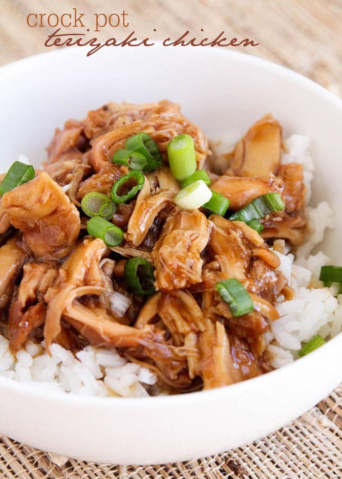 Olla de barro pollo teriyaki - esta receta de la cena es tan bueno y sencillo!  sabores deliciosos !!