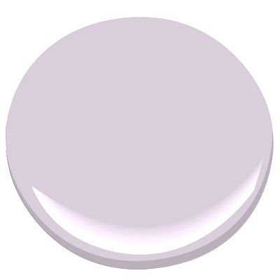 Also thinking in the lavendar family - Benjamin Moore - Lily Lavendar 2071-60 guest bathroom