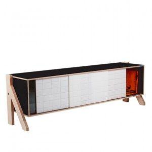 Gr. Frame Sideboard   Schwarz