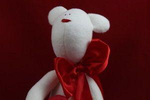 Tilda bear for valentines