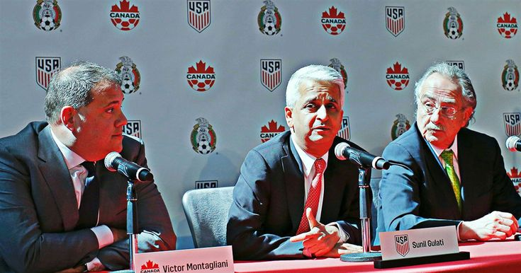 The USA-Mexico-Canada joint World Cup bid may be at risk of losing to Morocco. Alexi Lalas gives his reasons why FIFA members should vote for the U.S.-Mexico-Canada World Cup bid. http://heysport.biz/index.html